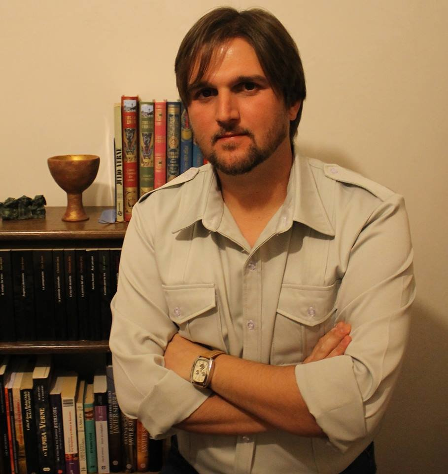 El escritor Manuel Jesús Segado-Uceda.