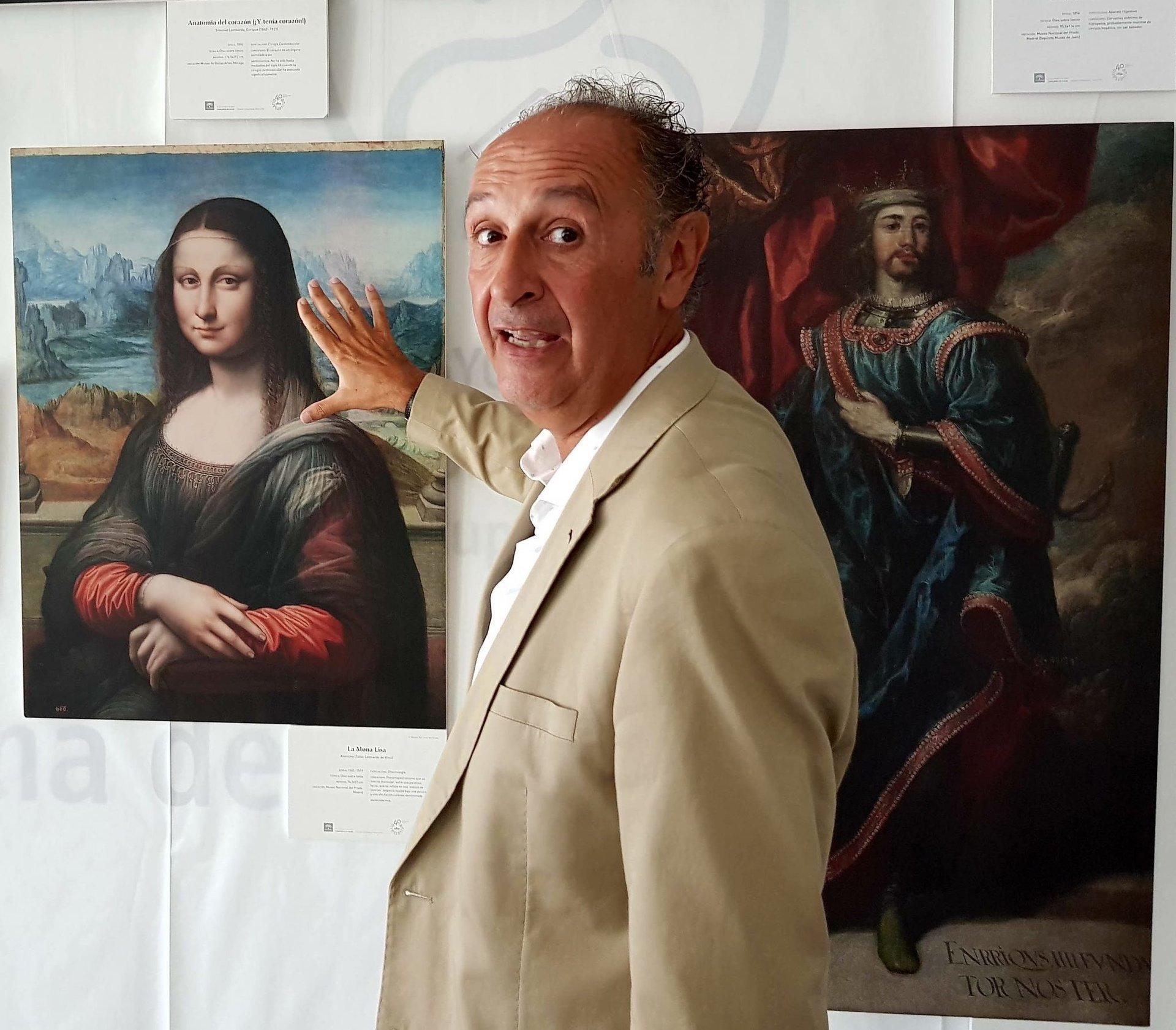 La Mona Lisa tiene estrabismo y parálisis facial