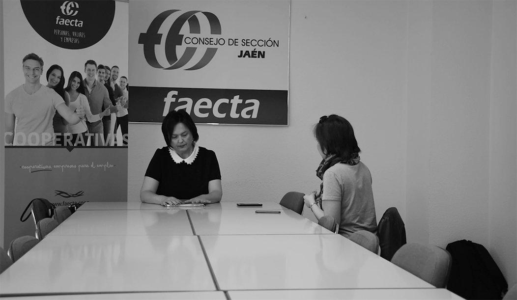 La conciliación laboral y familiar, un tema de la entrevista.