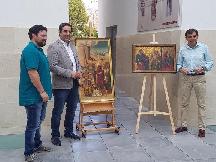Juan Francisco Martínez, Carlos Hinojosa y Juan Ángel Pérez.