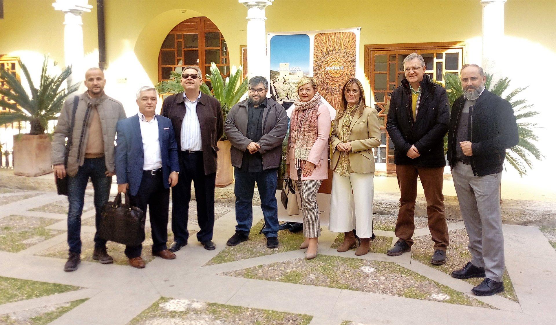 Presentación del proyecto Halal con representantes del sector turístico. Foto: Ayuntamiento de Jaén