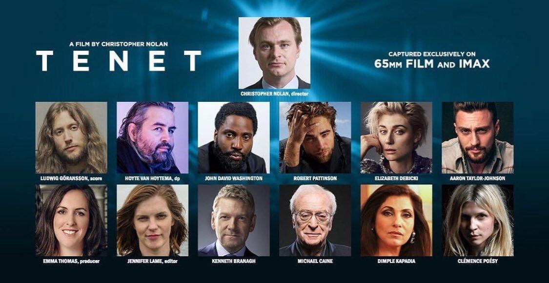Tenet, título de la nueva película de Christopher Nolan