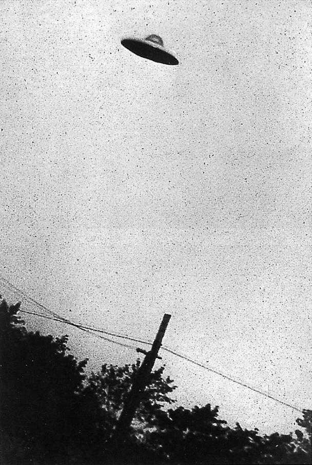 UnOVNI sobrevuela Nueva Jersey el 31 de julio de 1952. Foto: Wikipedia.